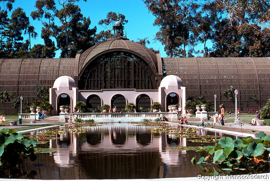 San Diego: Balboa Park--Botanical Building.  Photo '78.