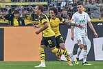 06.10.2018, Signal Iduna Park, Dortmund, GER, DFL, BL, Borussia Dortmund vs FC Augsburg, DFL regulations prohibit any use of photographs as image sequences and/or quasi-video<br /> <br /> im Bild Mario G&ouml;tze / Goetze (#10, Borussia Dortmund) Axel Witsel (#28, Borussia Dortmund) Jubel / Freude / Emotion / Torjubel / Torschuetze zum 4:3 Paco Alcacer (#9, Borussia Dortmund) <br /> <br /> Foto &copy; nph/Horst Mauelshagen