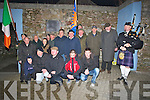 FIANNE: Young Fianna Percy Hanafin who was remembered by Young Sinn Fein a a comeration ceremony in Tralee by members of the Sinn Fein Republic Co Ciarrai? on Friday night........... . ............................... ..........