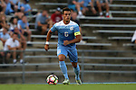 28 August 2016: North Carolina's Colton Storm. The University of North Carolina Tar Heels hosted the Saint Louis University Billikens at Fetter Field in Chapel Hill, North Carolina in a 2016 NCAA Division I Men's Soccer match. UNC won the game 3-0.