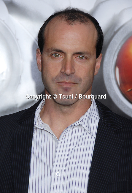 D.J. Caruso ( director )  arriving at the DISTURBIA Premiere at the Chinese Theatre in Los Angeles.<br /> <br /> headshot<br /> eye contact