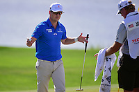 Zach Johnson (USA) after sinking his putt on 9 during round 2 of the Honda Classic, PGA National, Palm Beach Gardens, West Palm Beach, Florida, USA. 2/24/2017.<br /> Picture: Golffile | Ken Murray<br /> <br /> <br /> All photo usage must carry mandatory copyright credit (&copy; Golffile | Ken Murray)