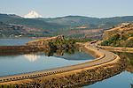Rowland Lake  on Highway !4, Washington