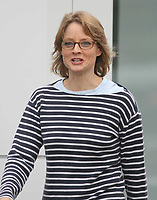 Jodie Foster<br /> filming The Beaver <br /> 2009<br /> Photo By John Barrett/CelebrityArchaeology.com