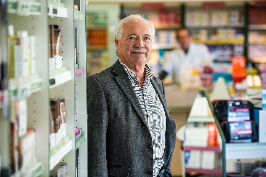 La pharmacie des Rosiers / Denis Gallice (gérant) -  Zone franche urbaine ZFU - Marseille 2013