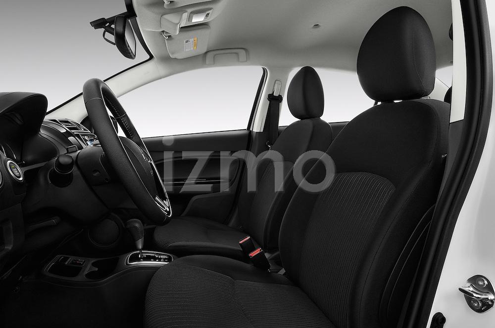 Front seat view of 2017 Mitsubishi Mirage-G4 SE-CVT 4 Door Sedan Front Seat  car photos