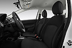 Front seat view of 2017 Mitsubishi Mirage-G4 SE-CVT 4 Door Sedan Front Seat  car photos