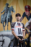 Tom Dumoulin (NED/Team Sunweb) at the team presentation stage.<br /> <br /> Le Grand D&eacute;part 2018<br /> 105th Tour de France 2018<br /> &copy;Kramon