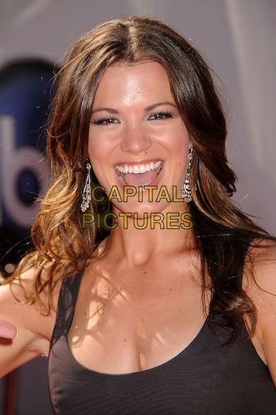 MELISSA CLAIRE EGAN .35th Annual Daytime Emmy Awards at the Kodak Theatre, Hollywood, California, USA..June 20th, 2008.headshot portrait mouth open .CAP/ADM/BP.©Byron Purvis/AdMedia/Capital Pictures.