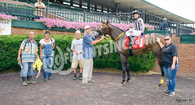 Maggie I'll Find U winning at Delaware Park on 7/27/17