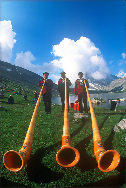 Sheepherders Festival, Gemmi, Switzerland