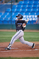 Missoula Osprey Tristen Carranza (37) at bat during a Pioneer League game against the Great Falls Voyagers at Centene Stadium at Legion Park on August 19, 2019 in Great Falls, Montana. Missoula defeated Great Falls 1-0 in the second game of a doubleheader. (Zachary Lucy/Four Seam Images)