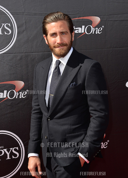 Jake Gyllenhaal at the 2015 ESPY Awards at the Microsoft Theatre LA Live.<br /> July 15, 2015  Los Angeles, CA<br /> Picture: Paul Smith / Featureflash