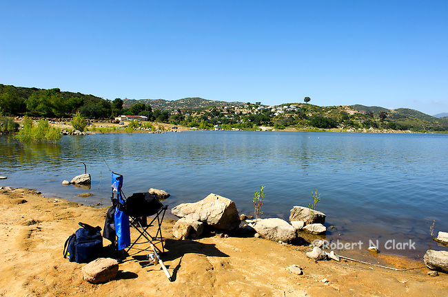 Lake Wohlford in San Diego County