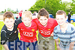 Ronan Buckley, Brian Buckley, Emmett Kennedy and Darragh Lehane having fun at the Faha NS sports day in the Listry GAA grounds on Sunday    Copyright Kerry's Eye 2008