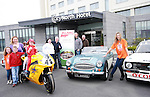 Anne Reilly, Jack and Jill Liaison Nurse with Isabel and Jack, Tony and Rose Martin, Louise Conaghy, Andy Hennessy, Richie Tallon and Ivon O'Connor from ALMC and Suzi McAdam at the Launch of the ALMC Motorshow at the City North Hotel...Photo NEWSFILE/Jenny Matthews.(Photo credit should read Jenny Matthews/NEWSFILE)....This Picture has been sent you under the condtions enclosed by:.Newsfile Ltd..The Studio,.Millmount Abbey,.Drogheda,.Co Meath..Ireland..Tel: +353(0)41-9871240.Fax: +353(0)41-9871260.GSM: +353(0)86-2500958.email: pictures@newsfile.ie.www.newsfile.ie.FTP: 193.120.102.198.