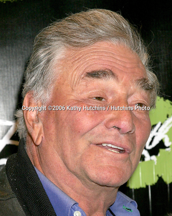 "Peter Falk.""Living With Ed"" Premiere Screening & Party.Sunset Lammle Theater.Los Angeles, CA.December 21,  2006.©2006 Kathy Hutchins / Hutchins Photo...."