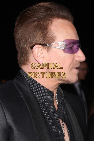 PALM SPRINGS, CA - January 04: Bono at the 25th Annual Palm Springs International Film Festival, Palm Springs Convention Center, Palm Springs,  January 04, 2014. Credit: Janice Ogata/MediaPunch Inc.