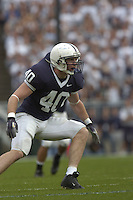 16 September 2006:  Penn State LB Dan Connor (40)..The Penn State Nittany Lions defeated the Youngstown State Penguins 37-3 September 16, 2006 at Beaver Stadium in State College, PA..