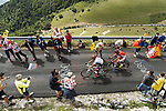 Warren Barguil (FRA) Team Sunweb and Tiesj Benoot (BEL) Lotto-Soudal climbing during Stage 9 of the 104th edition of the Tour de France 2017, running 181.5km from Nantua to Chambery, France. 9th July 2017.<br /> Picture: ASO/Pauline Ballet | Cyclefile<br /> <br /> <br /> All photos usage must carry mandatory copyright credit (&copy; Cyclefile | ASO/Pauline Ballet)