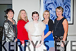 Anne Courtney, Paula Courtney, Tallula Belle Courtney, Kathleen Courtney and Anne O'Brien at the Listry GAA victory social in the Killarney Oaks Hotel on Saturday nigh