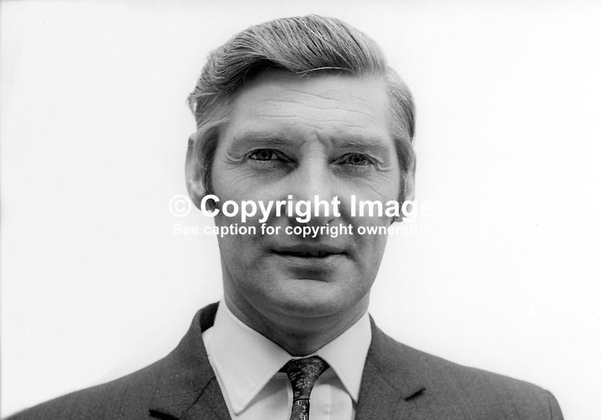 George Logue, Alliance Party, candidate, Mid-Ulster, June, 1973, N Ireland Assembly Election, 197306000440<br />