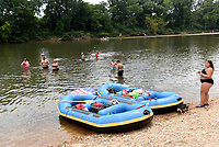 Mt. Shira access on the Elk River upstream from Noel, Mo., is a popular swimming hole and float trip access in McDonald County. The Missouri Department of Conservation access is along Missouri 59 about 4 miles east of Noel.<br />(NWA Democrat-Gazette/Flip Putthoff)