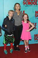 NEW YORK, NY - OCTOBER 01:  Edie Falco and family attends the New York Screening of Middle School: The Worst Years of My Life at Regal E-Walk on October 1, 2016 in New York City. Photo Credit: John Palmer/MediaPunch
