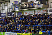 23rd March 2018, Halliwell Jones Stadium, Warrington, England; Betfred Super League rugby, Warrington Wolves versus Wakefield Trinity; Warrington fans prepare for tonight's game against Trinity