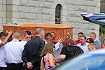 Gareth Reid Funeral