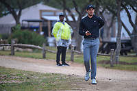 Jamie Lovemark (USA) heads to the 10th tee during Round 3 of the Valero Texas Open, AT&amp;T Oaks Course, TPC San Antonio, San Antonio, Texas, USA. 4/21/2018.<br /> Picture: Golffile | Ken Murray<br /> <br /> <br /> All photo usage must carry mandatory copyright credit (&copy; Golffile | Ken Murray)