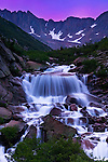 First light on Cascade Creek basin, San Juan Mountains, Colorado