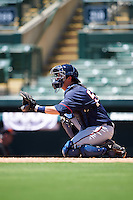 GCL Twins catcher Justin Hazard (56) during a game against the GCL Orioles on August 11, 2016 at the Ed Smith Stadium in Sarasota, Florida.  GCL Twins defeated GCL Orioles 4-3.  (Mike Janes/Four Seam Images)