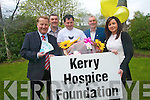 Killarney Outlet Centre will be a hive of activity this week with a very special fund-raising weekend packed with activities for all ages and plenty of prizes on offer all to raise funds for Kerry Hospice Foundation. .Back L-R PRO of Kerry Hospice Conor Cusack and Michael Griffin Chairman of the Killarney branch of the Kerry Hospice Foundation .Front L-R Manger of Killarney Outlet Centre Paul Sherry and Tony and Denise Whelan organisers of the event.