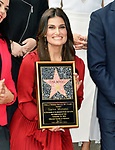 a_ Idina Menzel -Stars WofF  005 ,  Kristen Bell And Idina Menzel  Honored With Stars On The Hollywood Walk Of Fame on November 19, 2019 in Hollywood, California