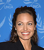 Angelina Jolie at UN 2003