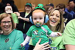 DURHAM, NC - FEBRUARY 04: Notre Dame fans. The Duke University Blue Devils hosted the University of Notre Dame Fighting Irish on February 4, 2018 at Cameron Indoor Stadium in Durham, NC in a Division I women's college basketball game. Notre Dame won the game 72-54.