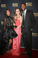LOS ANGELES - APR 30:  Christel Khalil, Gina Tognoni, Darnell Kirkwood at the CBS Daytime Emmy After Party at the Pasadena Conferene Center on April 30, 2017 in Pasadena, CA