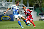 NELSON, NEW ZEALAND January 27: Tasman United v Waitakere United at Trafalgar Park on January 27 2019, Nelson, New Zealand (Photos by Barry Whitnall/Shuttersport Limited)