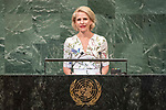 LOS general debate – 27 September<br /> <br /> PM<br /> <br /> Her Excellency Aurelia FRICK Minister for Foreign Affairs, Justice and Culture of Liechtenstein