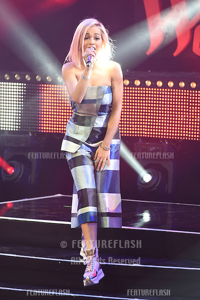 Rita Ora performs live and turns on the 2014 Christmas Lights at Westfield Shopping Centre, Shepherd's Bush, London. 03/11/2014 Picture by: Steve Vas / Featureflash