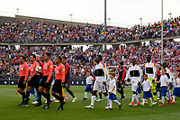 East Hartford, CT - Saturday July 01, 2017: Ghana, USMNT during an international friendly match between the men's national teams of the United States (USA) and Ghana (GHA) at Pratt & Whitney Stadium at Rentschler Field.