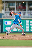 Amarillo Sod Poodles pitcher Mackenzie Gore (13) during a Texas League game against the Frisco RoughRiders on July 13, 2019 at Dr Pepper Ballpark in Frisco, Texas.  (Mike Augustin/Four Seam Images)