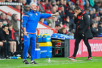 Stoke City Manager Paul Lambert barks instructions from the side line during AFC Bournemouth vs Stoke City, Premier League Football at the Vitality Stadium on 3rd February 2018