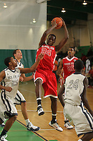 April 8, 2011 - Hampton, VA. USA; Moses Kingsley participates in the 2011 Elite Youth Basketball League at the Boo Williams Sports Complex. Photo/Andrew Shurtleff