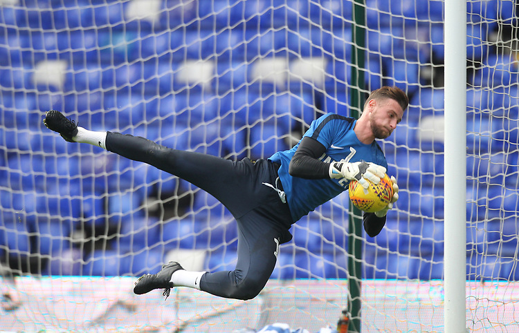 Preston North End's Declan Rudd<br /> <br /> Photographer Mick Walker/CameraSport<br /> <br /> The EFL Sky Bet Championship - Birmingham City v Preston North End - Saturday 1st December 2018 - St Andrew's - Birmingham<br /> <br /> World Copyright © 2018 CameraSport. All rights reserved. 43 Linden Ave. Countesthorpe. Leicester. England. LE8 5PG - Tel: +44 (0) 116 277 4147 - admin@camerasport.com - www.camerasport.com
