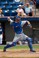 April 11th 2010: Mark Reed of the Daytona Cubs, the Florida State League High-A affiliate of the Chicago Cubs. In a game against the of the  Brevard County Manatees, the Florida State League High-A affiliate of the Milwaukee Brewers at Space Coast Stadium in Viera, FL (Photo By Scott Jontes/Four Seam Images)