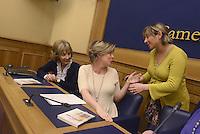 Roma, 9 Marzo 2015<br /> Conferenza stampa per presentare le iniziative politiche e sanitarie a favore dell'autismo in attesa della prossima giornata mondiale del 2 Aprile.<br /> Nella foto la ministra della Sanit&agrave; Beatrice Lorenzin