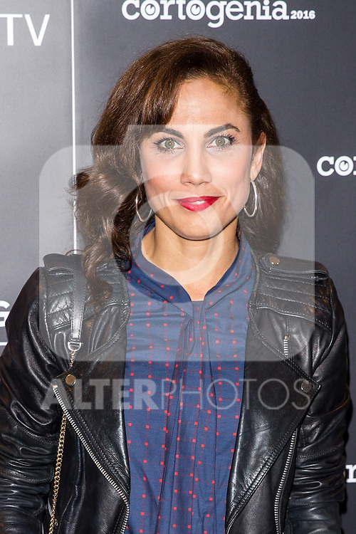 Toni Acosta during attends to the presetation of Cortogenia at Capitol Cinema in Madrid, Spain. December 12, 2016. (ALTERPHOTOS/Rodrigo Jimenez)