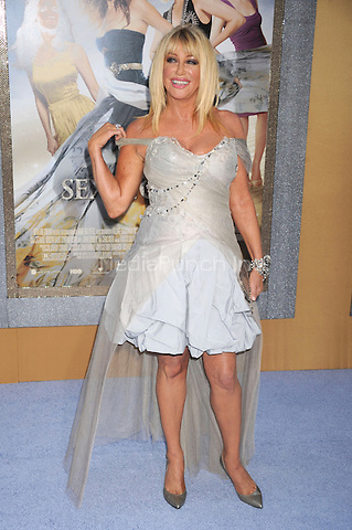 Suzanne Somers at the film premiere of 'Sex and the City 2' at Radio City Music Hall in New York City. May 24, 2010.Credit: Dennis Van Tine/MediaPunch